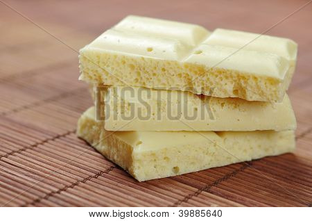White Porous Chocolate