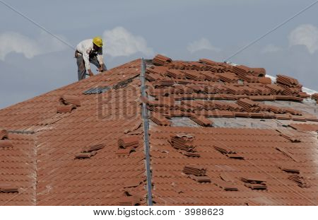 Roofing Contruction Work