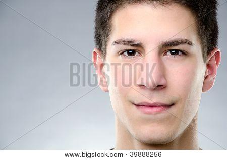 Portrait Of Attractive Man