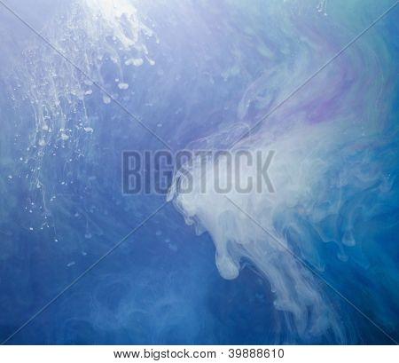 Cores aquáticas