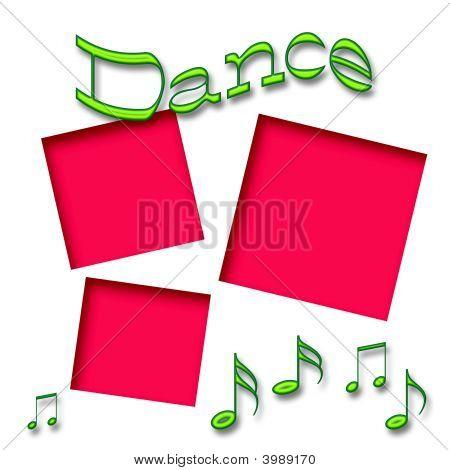 Dance Scrapbook Frame
