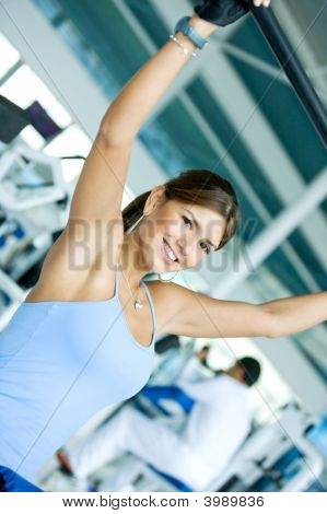 Woman At The Gym