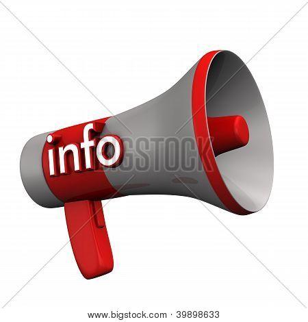 Informação de megafone