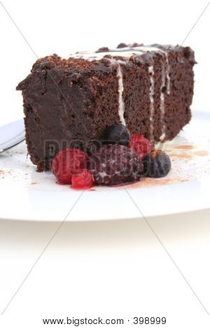 Chocolate Mud Cake Portrait
