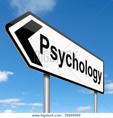 Psychologie-Konzept.