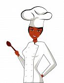 Black Female Chef