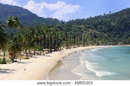 Beach of the Maracas Bay (Trinidad)