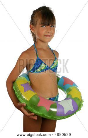 Children In Swimsuit