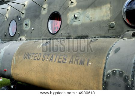 Vintage Army Helicopter