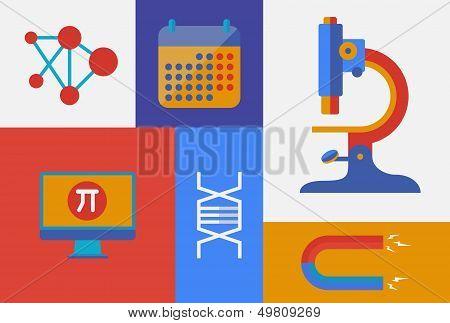 Scientific Retro Illustration