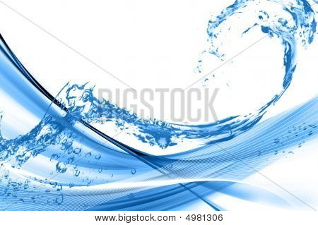 Water Wave Background 3