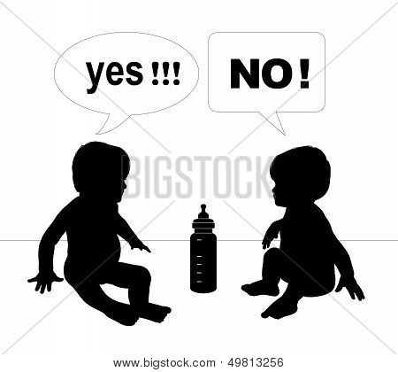 Babies Talk About Artificial Nutrition
