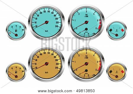 sport car gauges