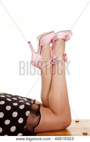 Kick Feet Up Pink Bench