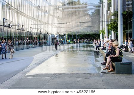 McCaw Hall Walkway in Seattle