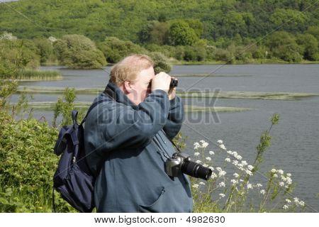 Homem pássaro Spotting