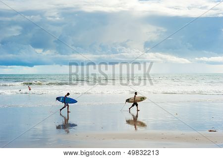 Balinese Surfers