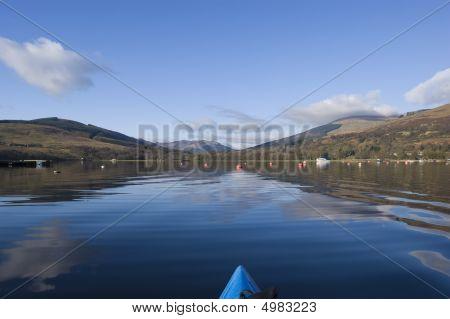 Kayaking On Loch Earn