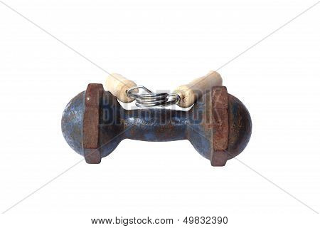 Hand Grippers And Iron Dumbbells