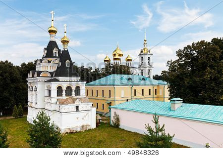 Churches Of Dmitrov Kremlin, Russia