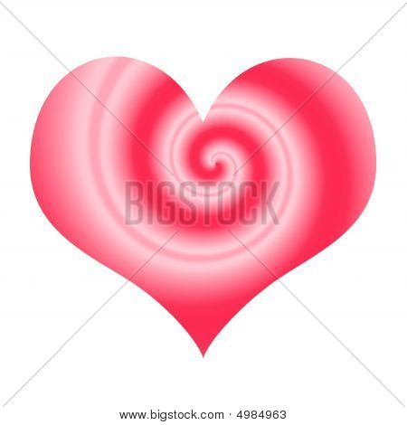 Abstract Love Symbol