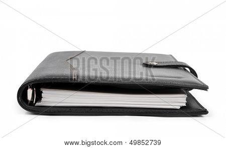 workbook isolated on white