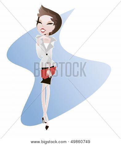 Girl Office - Secretary