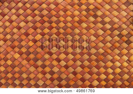 Bamboo In Thai Pattern