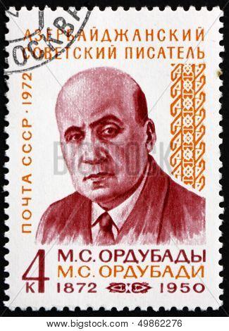 Postage Stamp Russia 1972 Mammed Said Ordubady, Azerbaijan Write