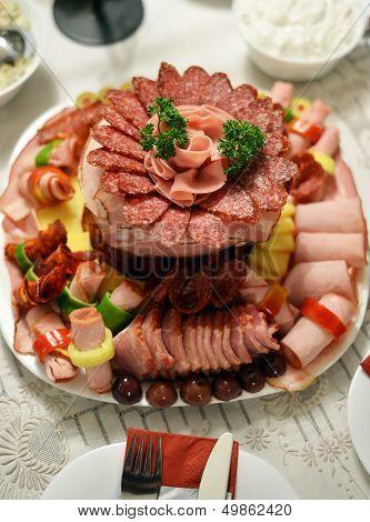 cold cuts platter