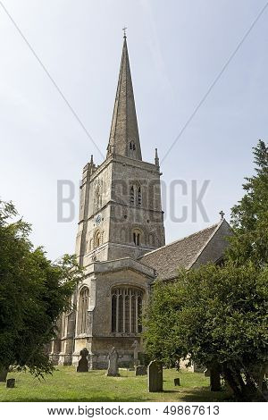 A village church in Wiltshire