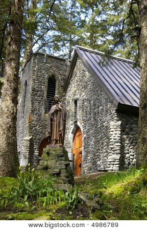 Stone Church In The Forest