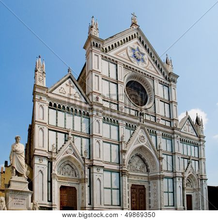 Basilica Di Santa Croce. Florence, Italy