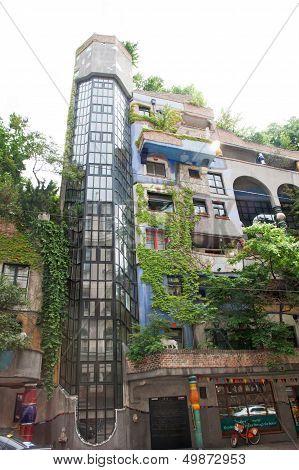 Hundertwasser House, Wien, Austria