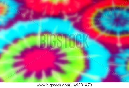 Tie Dye Blur Background