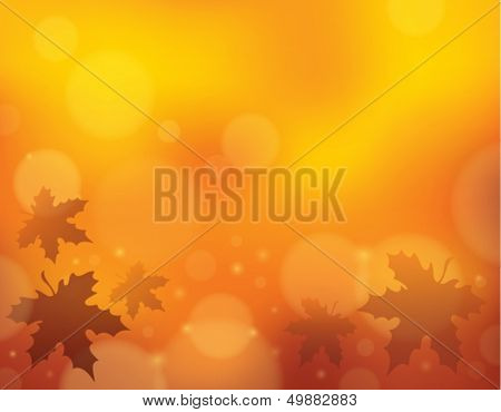 Autumn theme background 1 - eps10 vector illustration.