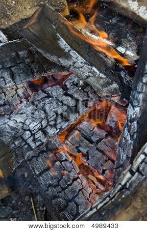 Flaming Campfire
