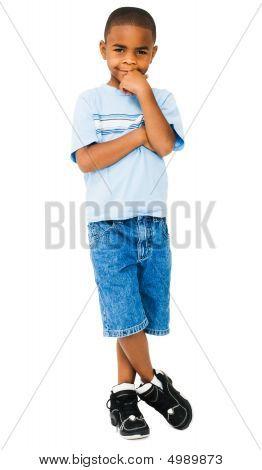 Happy Boy Posing