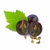 picture of grape  - grape in close up - JPG