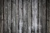 stock photo of timber  - grunge black wood wall texture and background - JPG