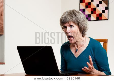Screaming at the computer