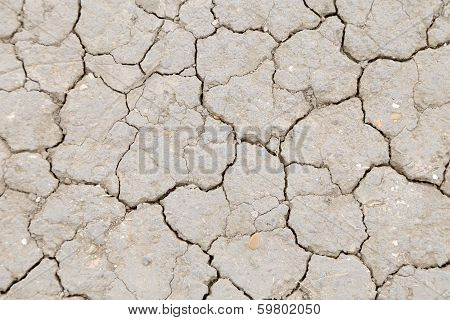 Background of dry cracked earth