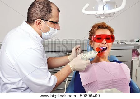 Dentist Tooth Filling