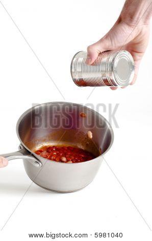 Chilli Beans And Saucepan