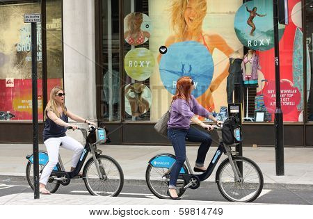 Barclays Bicycle Scheme