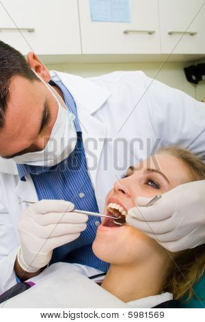 Visiting dentist