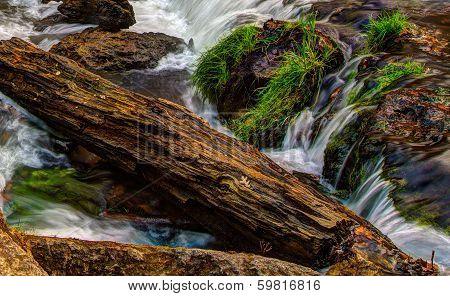 Beautiful River Waterfall In Hdr High Dynamic Range