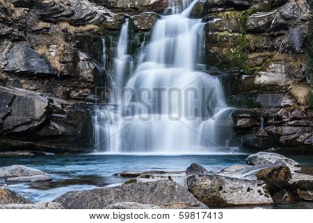 Cascade In A Spanish National Park