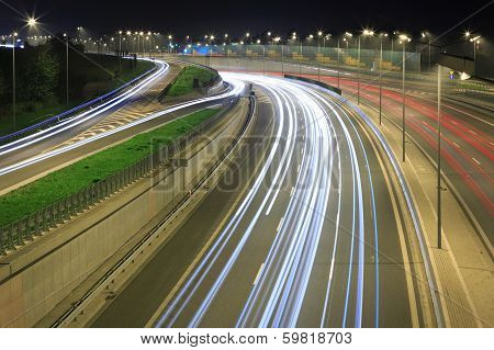 City traffic, cars on the road