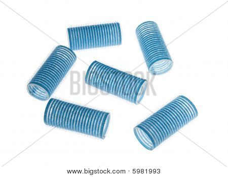 Blue Curlers